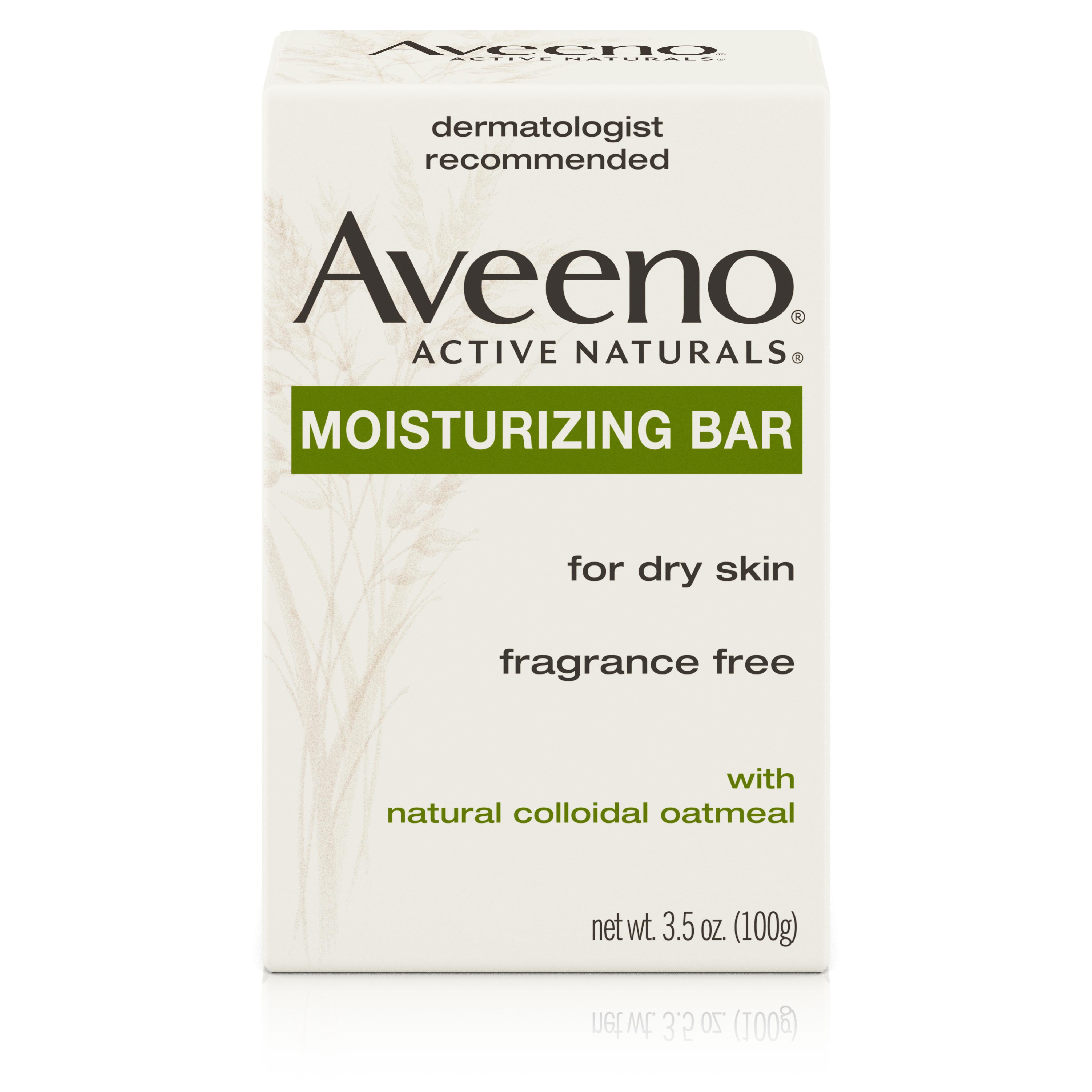 Gentle Moisturizing Bar Facial Cleanser for Dry Skin, 3 5 oz