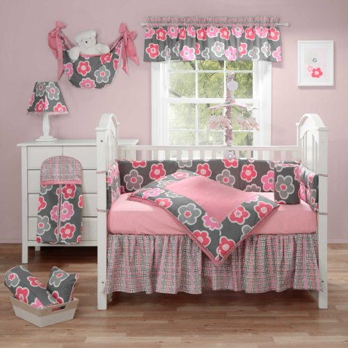 Banana Fish Ikat Petals 3 Piece Baby Crib Bedding Set by ...