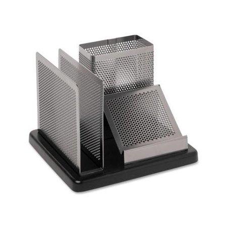 Rolodex Distinctions Desk Organizer (Rolodex Distinctions Wood Base Desk Organizer ROLE23552 )