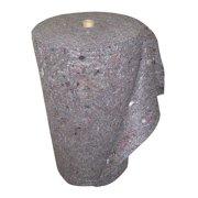 BRADY SPC ABSORBENTS RAG24150 Absorbent Roll, Gray, 37 gal., 24 In. W