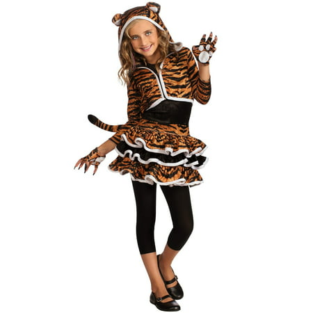 Tigress Hoodie Costume - Girls - Egypt Costume For Girls
