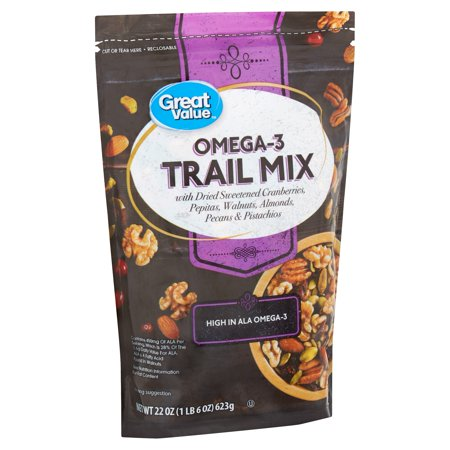 Great Value Omega-3 Trail Mix, 22 - Halloween Trail Mix Ingredients