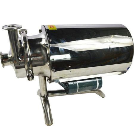 Techtongda Food Grade Centrifugal Pump Sanitary Beverage Pump Stainless Steel