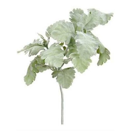 2PK Artificial Dusty Miller Spray in Grey Green - 19