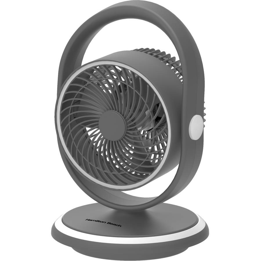 "Hamilton Beach 8"" Air Circulator, Grey"