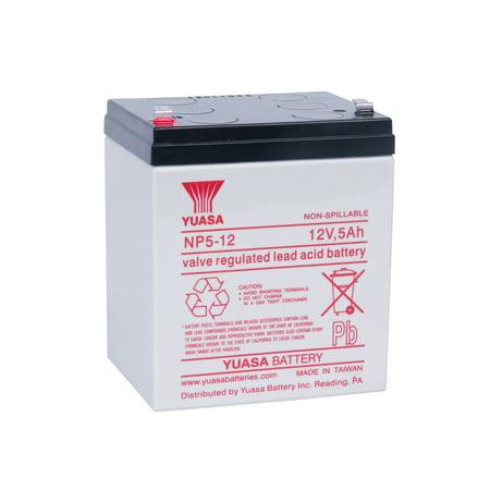 Yuasa Battery NP Series NP5-12   - Leatherman Charge Tti