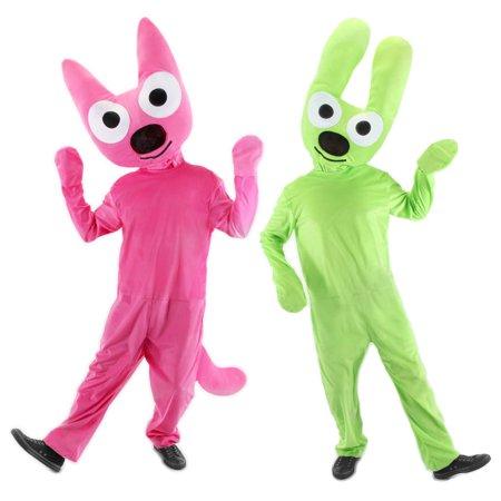 DELUXE Hoops&Yoyo Hoops and Yoyo Costume Kit Adult S/M - Hoops And Yoyo Halloween Card