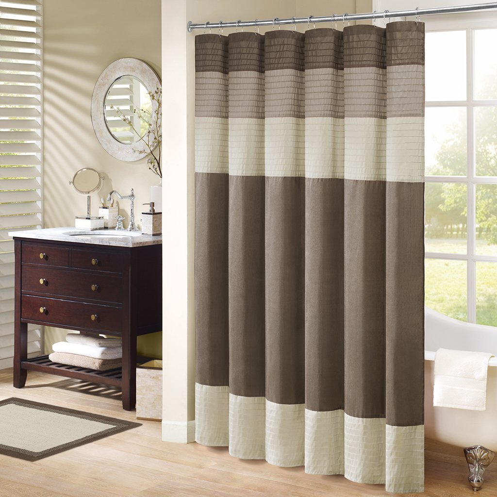 "MP72-1047 Amherst Bath Rug 20x30"" Taupe,20x30"", Set includes: 1 rug By Madison Park"
