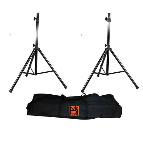 Mr. Dj SS650PKG Tripod Speaker Stand Package with Bag