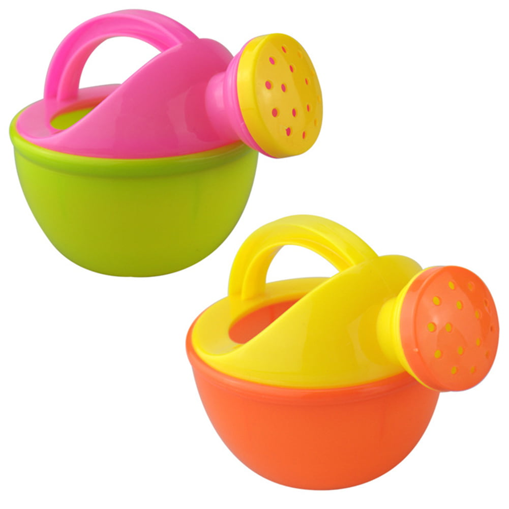 Baby Bath Toy Plastic Watering Can Watering Pot Beach Toy Play Sand Toy Gift for Kids Random Color by