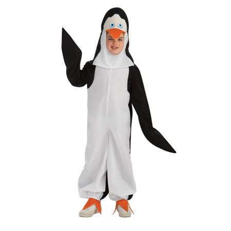 Penguins Of Madagascar Penguin Kowalski Costume Child - Madagascar Costumes