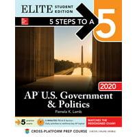 5 Steps to a 5: AP U.S. Government & Politics 2020 Elite Student Edition (Paperback)