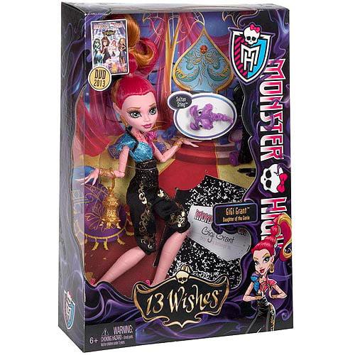 Monster High 13 Wishes Gigi Doll by Mattel