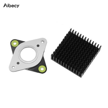 Aibecy 3D Printer Metal & Rubber Stepper Motor Vibration Damper Shock Absorber with Heatsink for Nema 17 42 Stepper