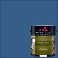 Luxurious Blue, KILZ Complete Coat Interior/Exterior Paint & Primer in One, #RC280-02