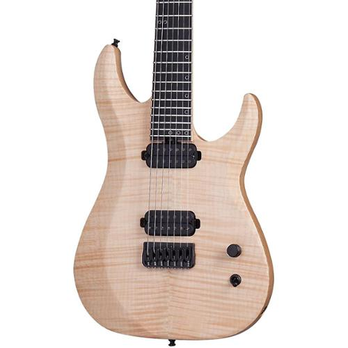Schecter Guitar Research KM-7 MK-II 7-String Electric Guitar Natural Pearl