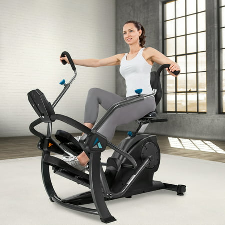 Teeter FreeStep Recumbent Cross Trainer and Elliptical ()