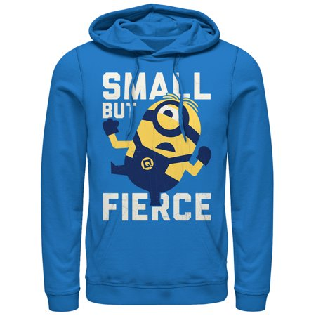 Despicable Me 3 Men's Minion Small But Fierce Hoodie](Minion Hoodie)