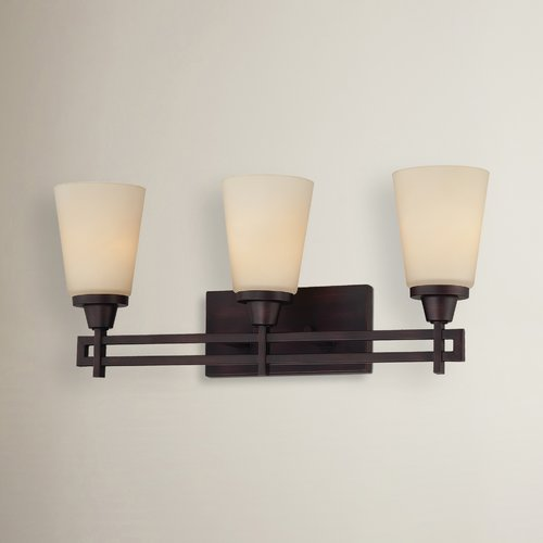 Latitude Run Simpson Contemporary 3-Light Vanity Light