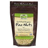 NOW Foods Certified Organic Pine Nuts 8 oz