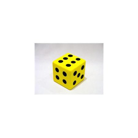 Everrich EVM-0015 3.25 Inch Foam Dice with (Foam Dot Dice)
