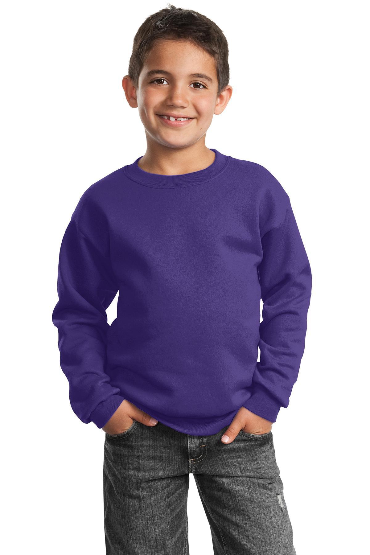 Port & Company - Youth Core Fleece Crewneck Sweatshirt