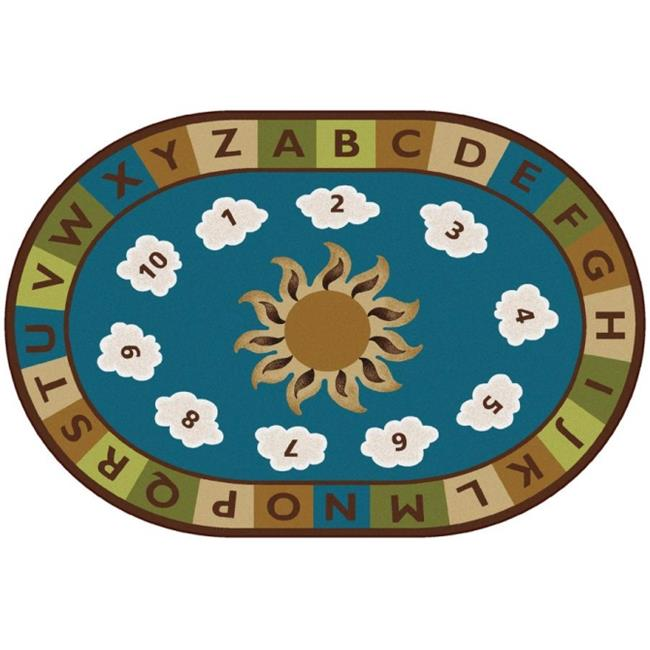 Carpets for Kids 94706 Sunny Day Learn & Play Nature Rug