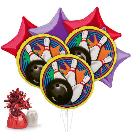Bowling Balloon Kit (Each) - Party Supplies - Bowling Party Supplies
