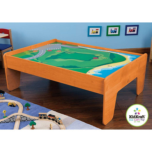 KidKraft Train Table, Honey