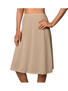 Women's Shadowline 4711625 25 Inch Flare Daywear Half Slip