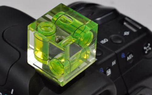 3 Axis Triple Bubble Spirit Level Flash Hot Shoe for Canon Nikon Camera DSLR USA