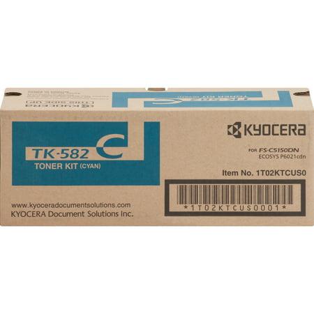 Kyocera Mita TK582C Cyan Toner Cartridge High - Kyocera Mita Km2550