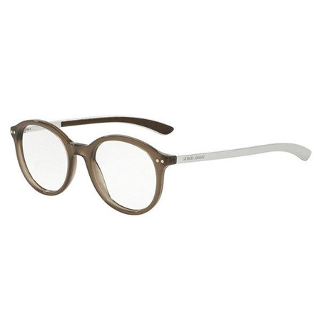 Giorgio Armani AR7065-Q 5363 Eyeglasses Brown Silver Frame 48mm Giorgio Armani Frames