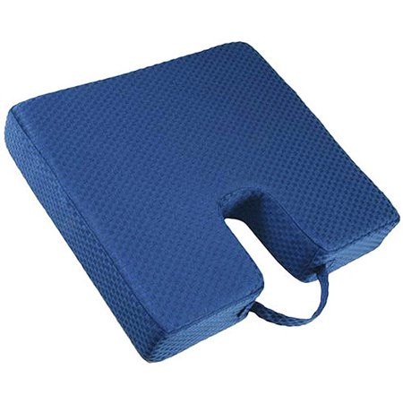 carex memory foam coccyx seat cushion walmart com