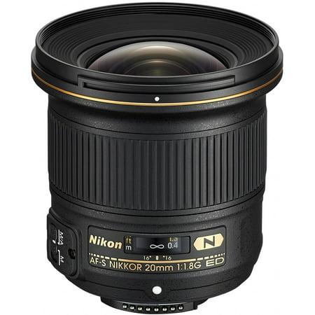 Nikon Nikkor - 20 mm - f/1.8 - Ultra Wide Angle Lens for Nikon (Best Ultra Wide Angle Lens For Nikon Fx)