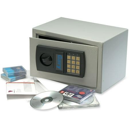 FireKing 0.3 cu. ft. Personal Safe with Digital Lock, HS1207 Light Gray
