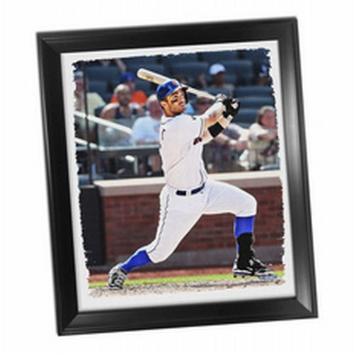 New York Mets David Wright Framed Stretched 32X40 Canvas - image 1 of 1