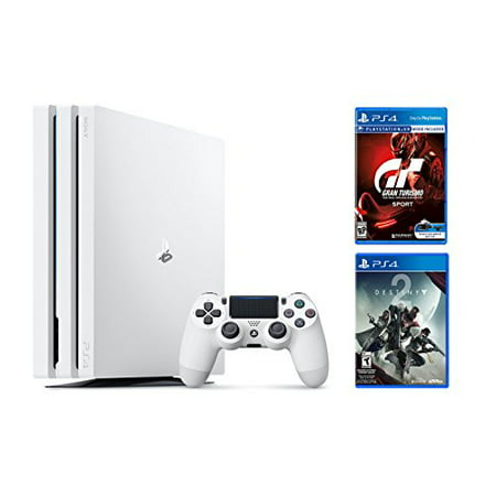 Playstation 4 Pro Destiny Bundle 2 Items  Ps4 Pro 1Tb Console   Destiny 2  Game Disc Gran Turismo Sport