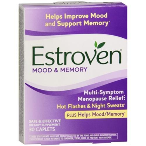 Estroven Plus Mood & Memory Caplets 30 Caplets (Pack of 2)