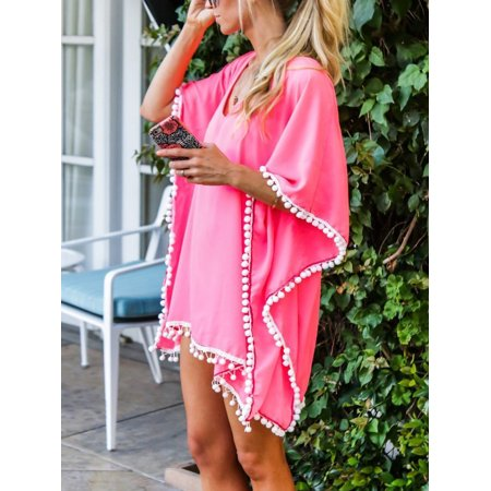 131f67e416a LELINTA Women Swimwear Lounge Dress Bikini Tops Cover ups Lady Swimsuit  Chiffon Beach Shirt Dress Bathing