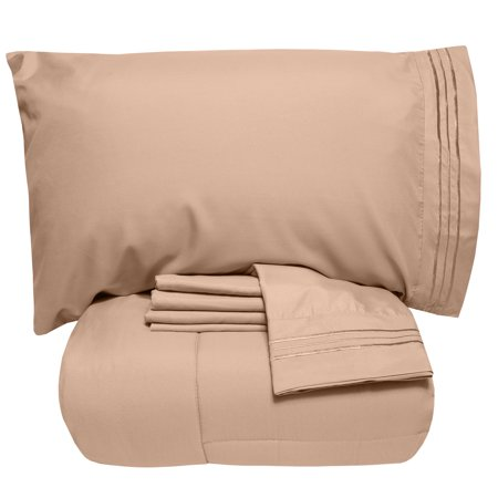 7 Piece Bed-In-A-Bag Down Alternative Comforter & Sheet (Way Down Upon The Swanee River Sheet Music)