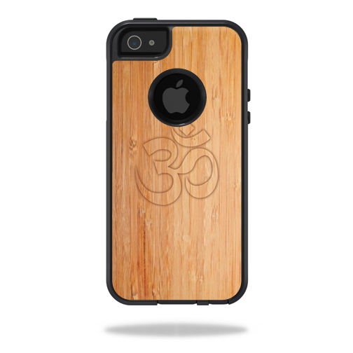 MightySkins Protective Vinyl Skin Decal for OtterBox Commuter iPhone 5/5s/SE Case wrap cover sticker skins Bamboo Ohm