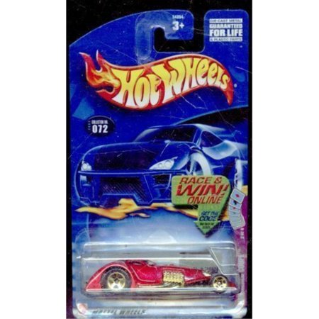 Hammer Race (Hot Wheels 2002-072 Hammered Coupe 2 of 4 Race and Win Card 1:64 Scale )