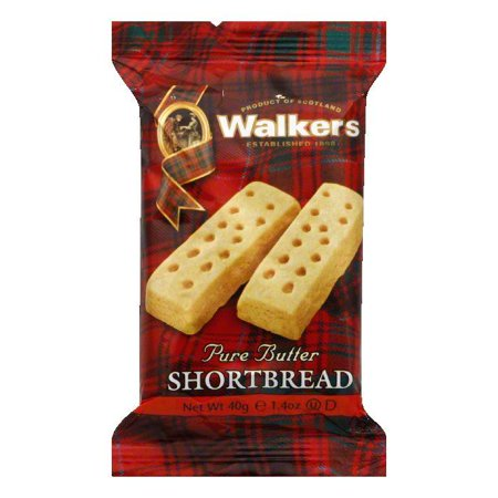 Walkers Shortbread Fingers single serving pack, 1.4 OZ (Pack of 24)