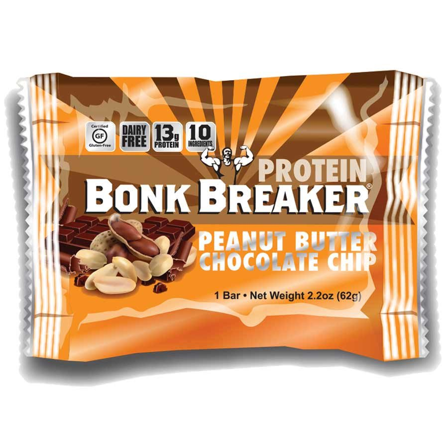 Bonk Breaker, Peanut Butter & Chocolate Chip Protein Bar