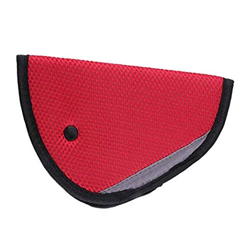 Top Quality Car Seat Belt Protector Memory soft object Cushion, Red