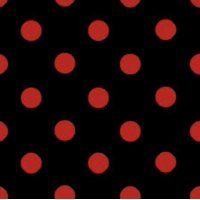 "Small Polka Dot Poly Cotton Fabric by the 5, 10, 15 and 20 Yard Increment, 58""/60"" Wide, All Colors"