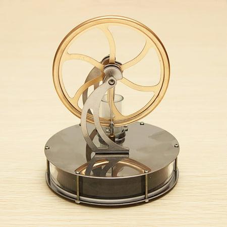 DIY Low Temperature Stirling Engine Generator Kit Novelty Model Motor No Steam Toy - Toy Engine Kit