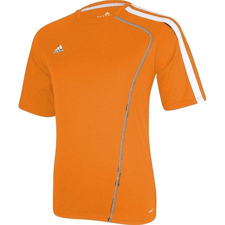 Adidas Men's Sossto Soccer Jersey T-Shirt Orange/White Orange Striped Soccer Jersey