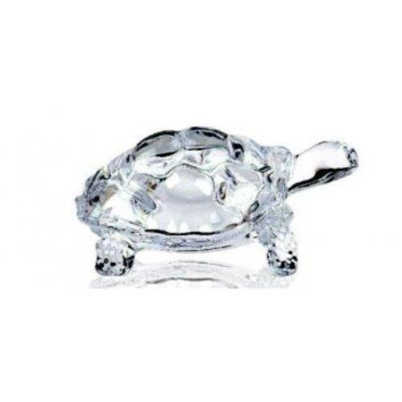 Chinese Feng Shui Tortoise Turtle Glass Statue Lucky Gift of Good (Feng Shui Gemstones)